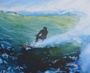 surf art print - CLEARANCE PRICED