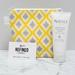 Yellow Diamond Makeup Bag / cosmetic bag / toiletry bag