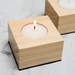 Pine Candle Holder