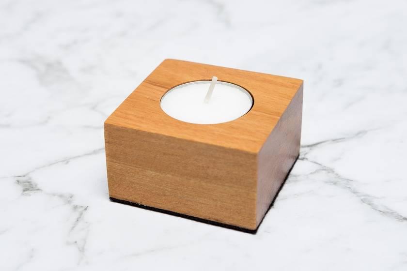 Rimu Tea Light Candle Holder