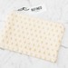 Large Zippered Pouch - Metallic Gold Stars