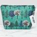 Large Makeup bag - Green Forest