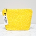 Large Makeup Bag - Yellow Dot