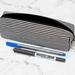 Black and White Striped Box Pencil Case
