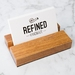 Rimu Business Card Holder