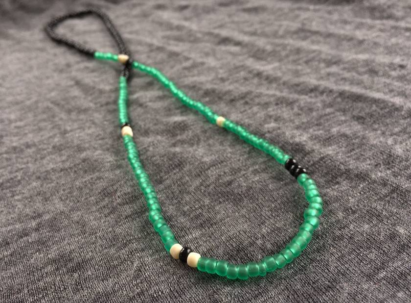 Frosted Jade Monochrome Beads