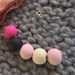 Pinks, polka and navy beads