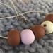 SALE Pink, brown and polka beads sale