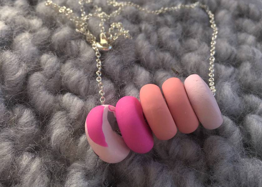 SALE Shades of pink little beads