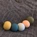 Pastel + earthy shade beads
