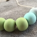SALE Green With Envy Beads