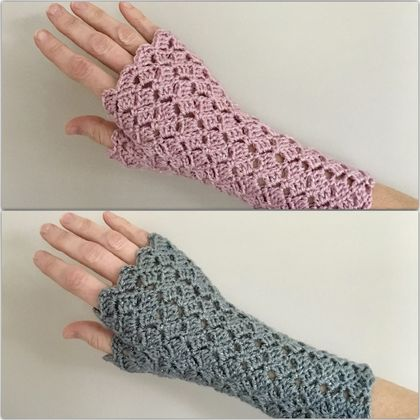Fingerless Gloves - Assorted Sparkle
