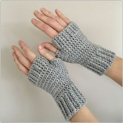 Fingerless Gloves - Merino