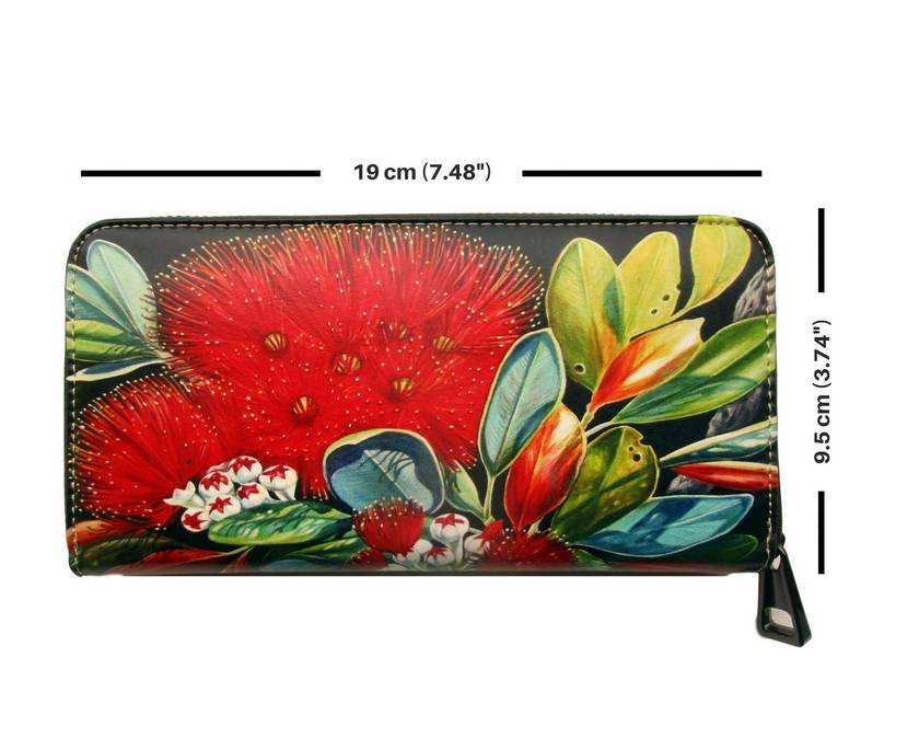 Pohutukawa Flower Fine Art Wallet