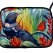 Small shoulder bag-Tui and Monarch Butterfly