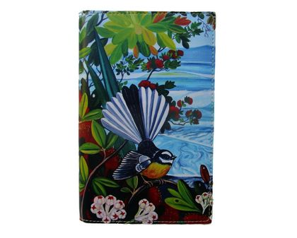 Fine Art Travel Purse- Fantail and Ocean Waves