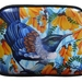 Small shoulder bag-Fantail and Kowhai flowers