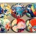 Round Ceramic Wall Art