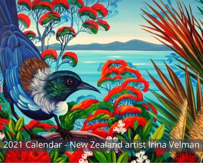 2021 Wall Calendar-Art by Irina Velman