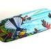 Glasses Case with matching Lens Cloth Fantail and ocean waves