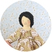 Lila  |   A Little Courage Doll   |   Dollhouse Doll   |   Hilary Jean Tapper