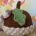 Autumn Acorn Hat
