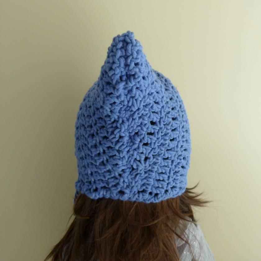 Adult Pixie/Elfin Hat - blue