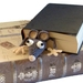 Hand Crocheted Rat Bookmark
