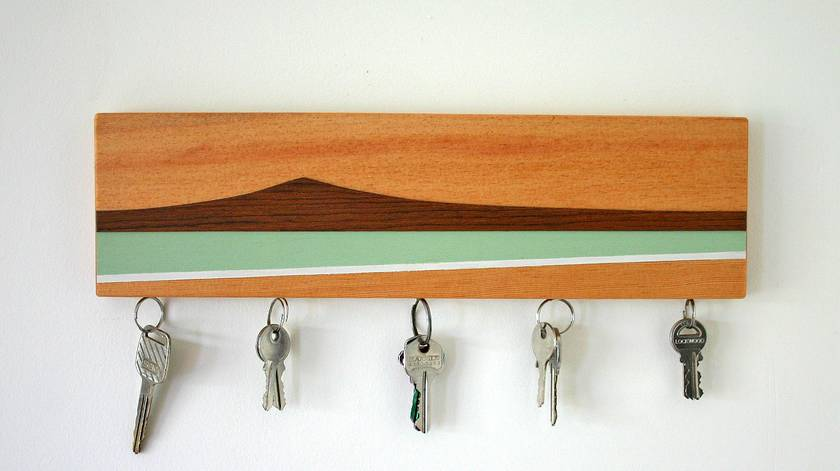 Rangitoto Island Magnetic Key Holder