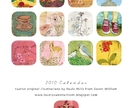 2010 Calendar - limited edition 12 illustrations