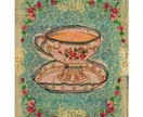 Tea cup no 1 6x8 Art print