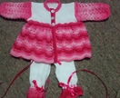 Layette for newborn baby or 22inch reborn doll