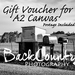 Gift Voucher - one A2 size BackCountry canvas