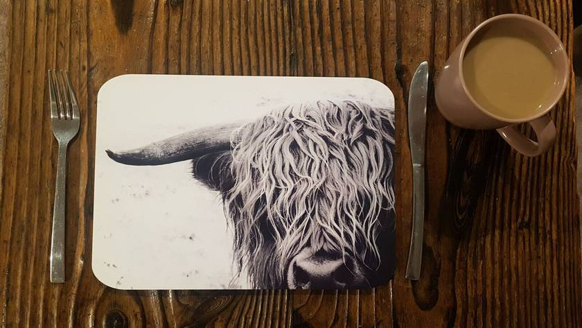 'Curly Cow' Placemat Set