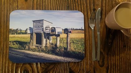 'Country Mailboxes' Placemat Set