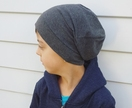 Charcoal Grey Slouch Hat - Custom Order