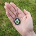 Yoshi Egg Cross Stitch Charm