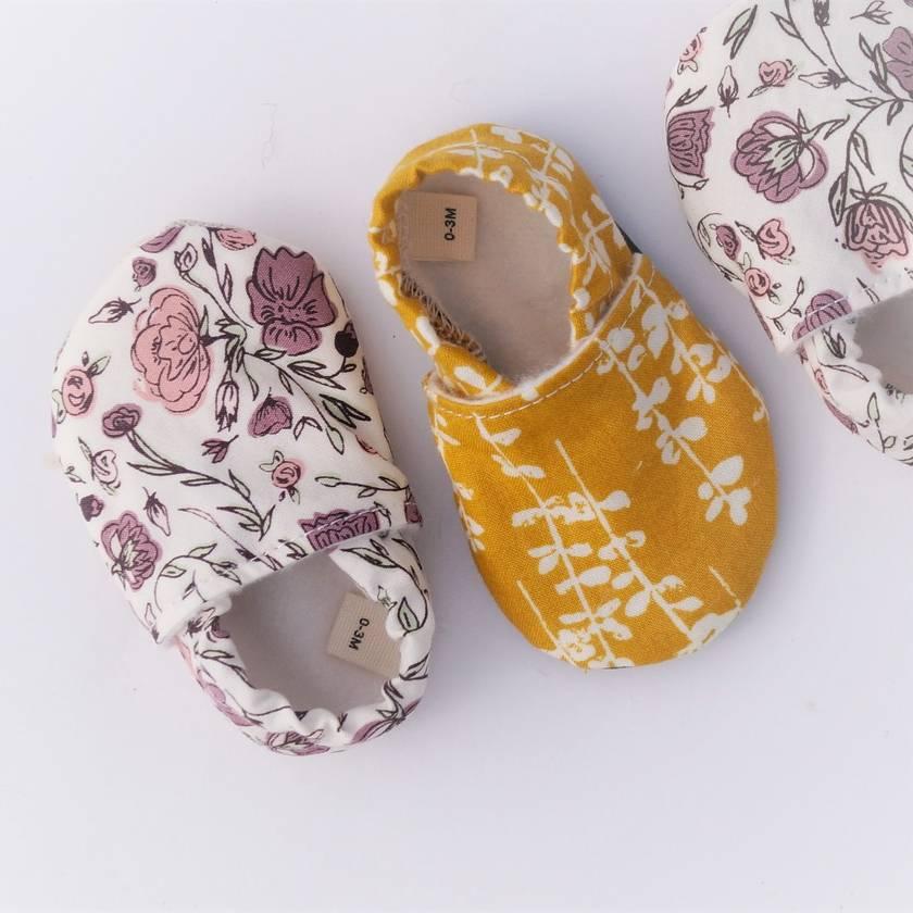 Organic Slip-on Baby Shoes