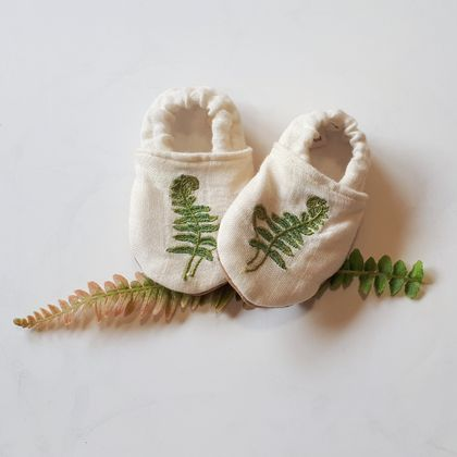 Organic Native Slip-on Baby Shoes