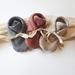 Organic Rib Booties - choose your fabric
