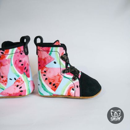 Watermelon Soft Sole Hightops