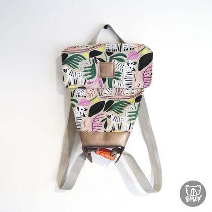 Jungle Convertable Backpack Messenger bag for Toddlers & Kids
