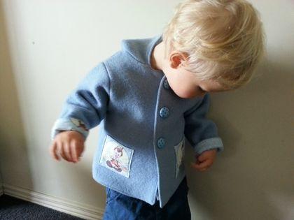 Boys Woolen Coat Size 18mths-2yrs