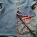 Blue Wool Flutter Vest