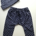 Baby Hat and Leggings Set - Blue