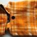 Orange Wool Vest