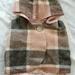 Pink/Grey Wool Vest