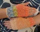 Kids Knitted Hand Warmers - by Amanda @ A Kinder World