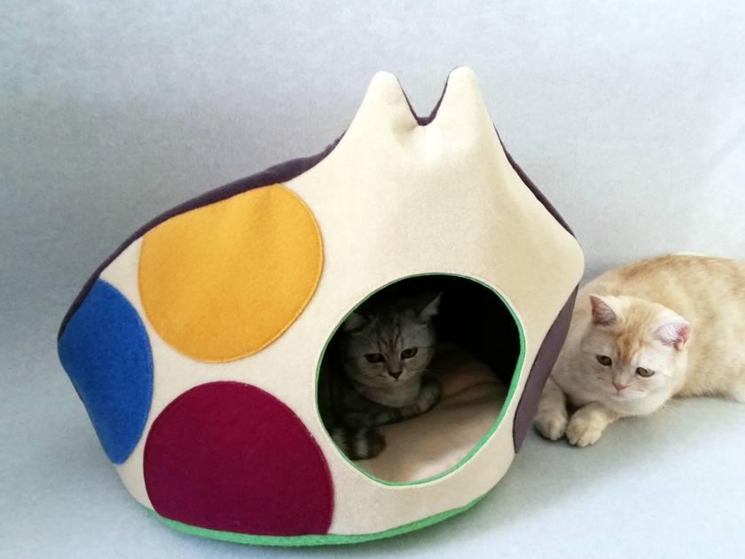 Luxury Designer CAT BED - NZ Made