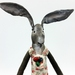 Luna the Rabbit Textile Wall Art